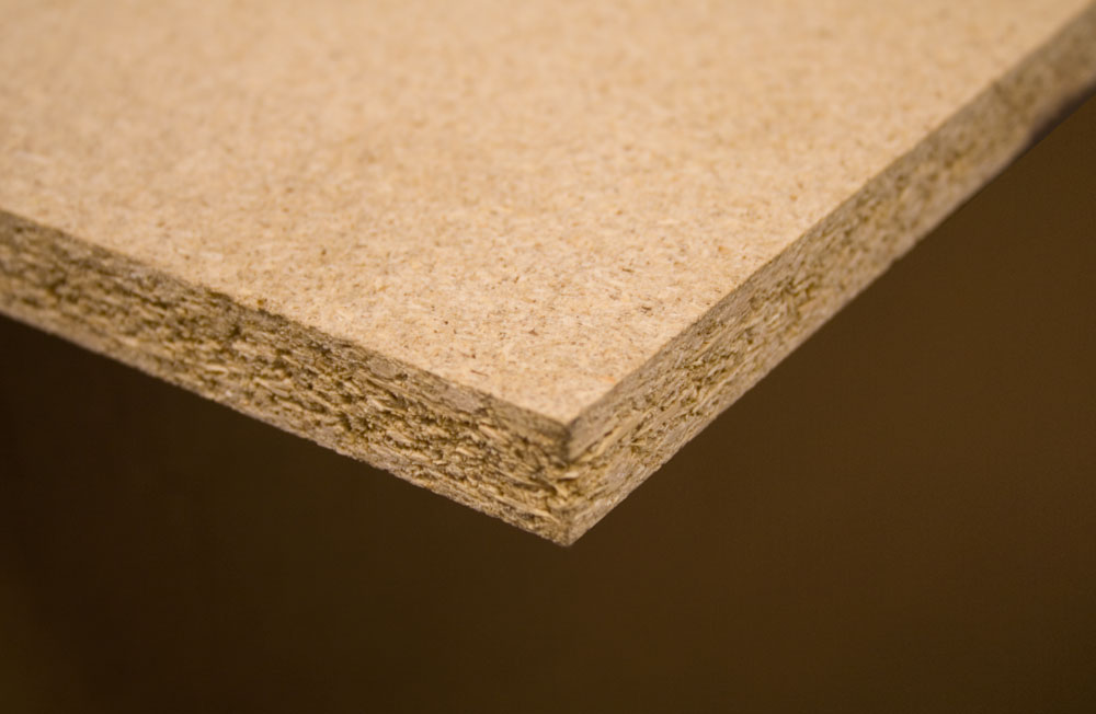 Chipboard Shelving - 1000mm Deep x 18mm Thick (inc. 3 no. supports)